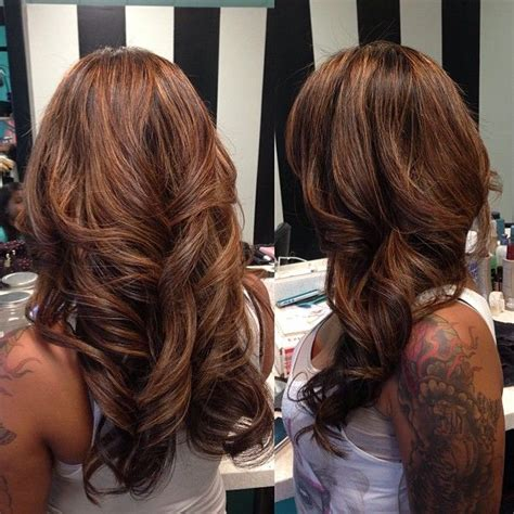 partial highlights on brown hair partial highlights on brown hair dark brown hairs