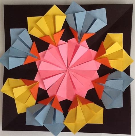 Origami Lesson - origami math lesson 52 best origami menas images on