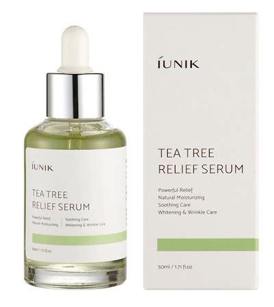 serum tea tree by kefir cipan qoo10 iunik tea tree relief serum 50ml cosmetics