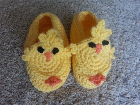 chicken slippers items similar to crocheted chicken slippers just in time