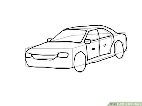 doodle car 4 easy ways to draw cars with pictures wikihow