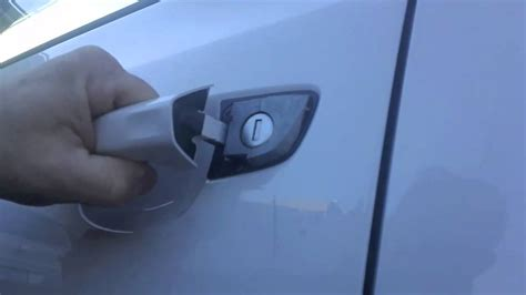 Golf 5 Auto Unlock by Vw Keyless Entry Manual Lock Unlock And Start Youtube