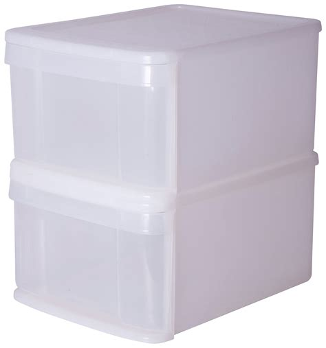 white plastic stacking drawers plastic drawers find it for less