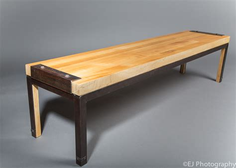 bench tables 555 custom designs butcher block table bench