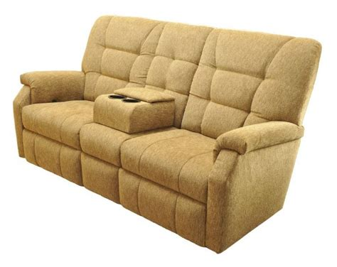 Wall Hugger Reclining Loveseat by Lambright Superior Sofa Recliner Glastop Inc