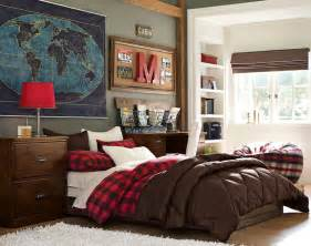 Bedroom Decorating Ideas For Teenage Guys Teenage Guys Bedroom Ideas Comfort Pbteen