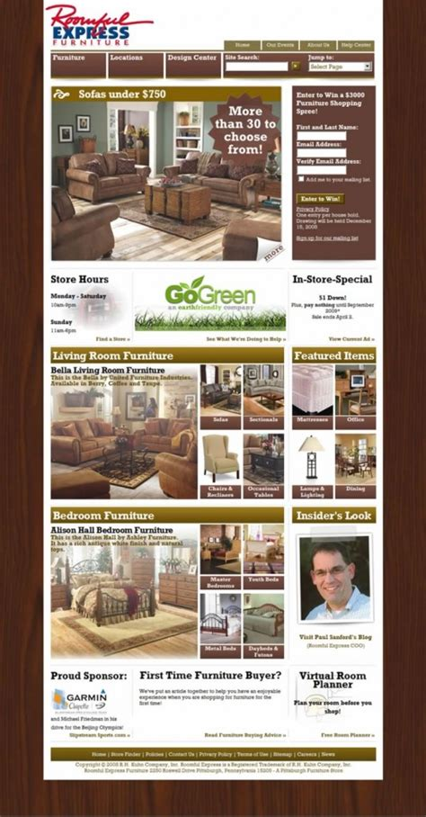 Roomful Express by Roomful Express Furniture Pittsburgh Web Developer