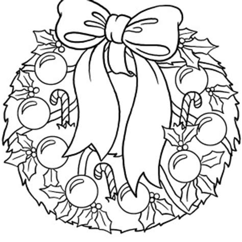 coloring pages of a christmas wreath best photos of wreath coloring pages christmas wreath