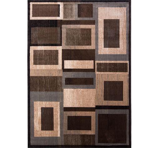 black brown rug home dynamix bazaar gal 1196 black brown 7 ft 10 in x 10 ft 1 in indoor area rug 1 1196 469