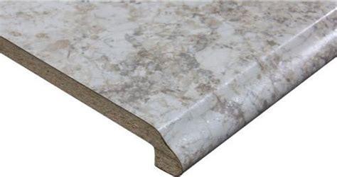 CustomCraft Countertops? 4 ft. Carrara Pearl Ogee Edge