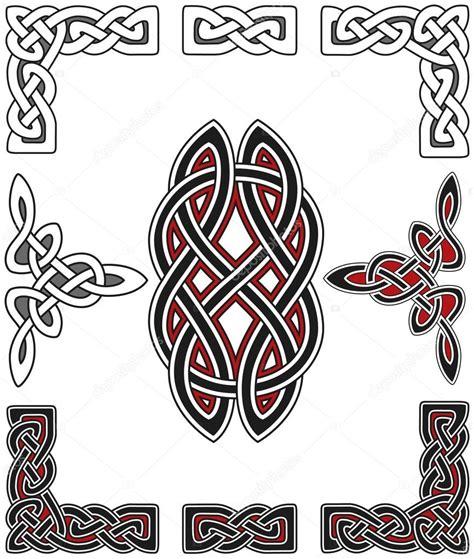 celtic design elements vector set of celtic design elements stock vector 169 chaosmaker