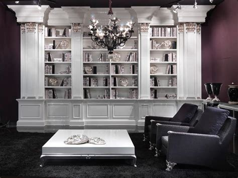 library luxurious reinterpretation of a classic furniture