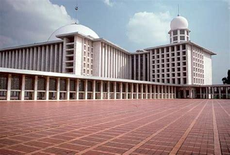 desain masjid istiqlal keistimewaan masjid istiqlal yang tak dipunyai masjid lain 1