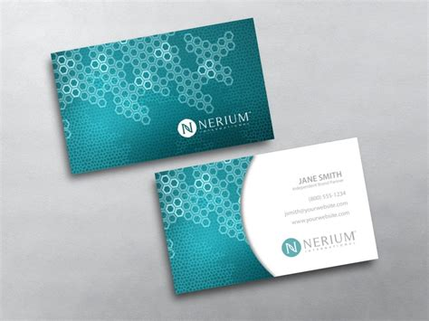Nerium Business Cards Template nerium business cards free shipping