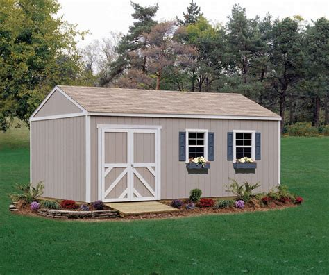 handy home products columbia  storage building
