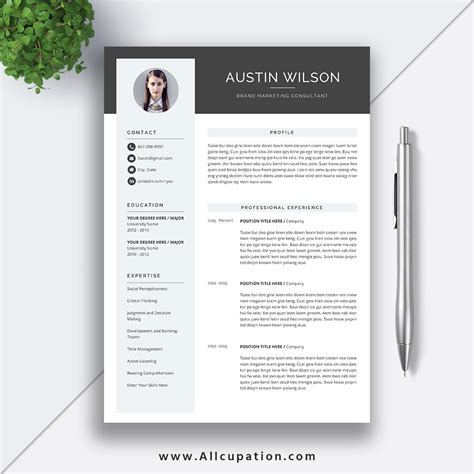 chronological resume reference sheet office templates reference page