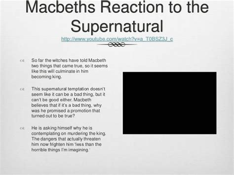 themes of the supernatural in hamlet macbeth supernatural essay macbeth supernatural essay