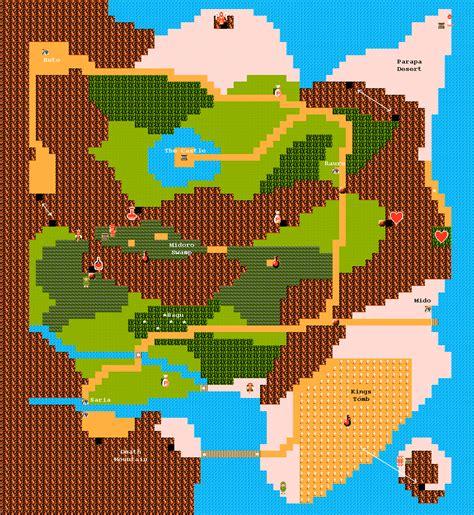legend of zelda live map zeldalandia zelda ii the adventure of link kartat