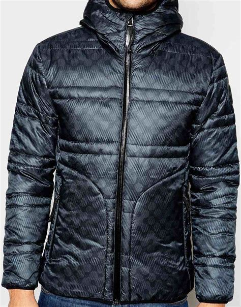 Sweater Donalt Duck Cimot Clothing replay quilted jacket duck free hooded subtle digi camo in blue for lyst