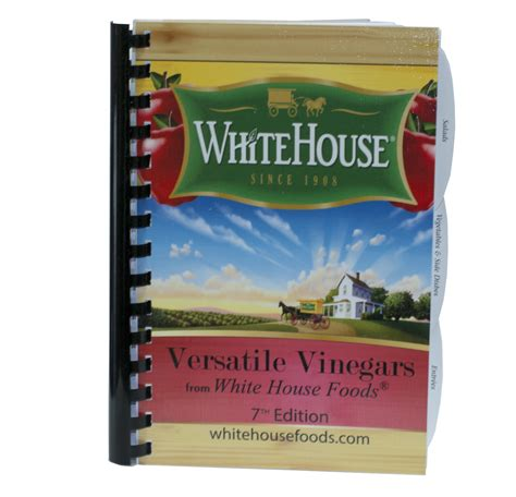 White House Detox Reviews by White House Versatile Vinegar Cookbook White House