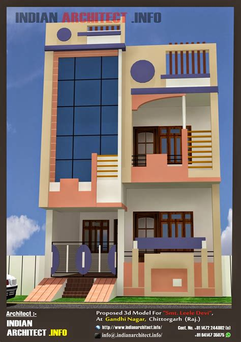 home design 50 50 smt leela devi house 20 x 50 1000 sqft floor plan and