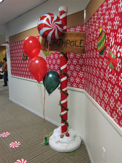 north pole decor first birthday party ideas pinterest
