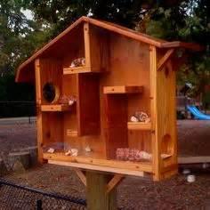 homemade squirrel house craft ideas homemade bird