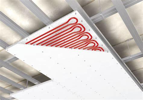 pannelli radianti a soffitto la climatizzazione soffitto radiante