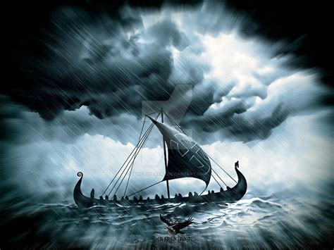 viking ship storm www imgkid com the image kid has it