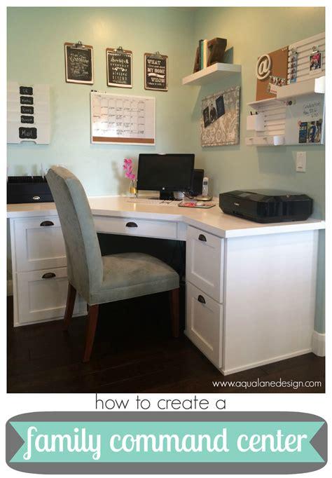 how to create a family command center aqua design