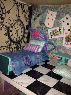 ever after high doll house maddie hatter room for ever after high doll house