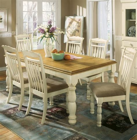 jennifer convertibles dining room sets home gallery furniture for white 7 pc cottage retreat