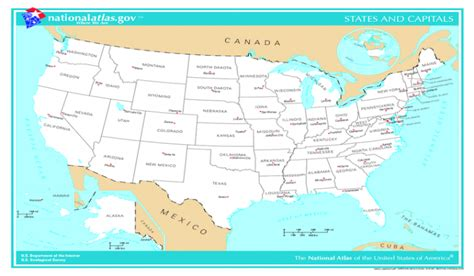 usa map with 50 states and its capital capital cities of the 50 u s states worldatlas