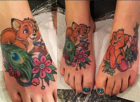 fox and the hound tattoo 17 best images about tattoos on ankle