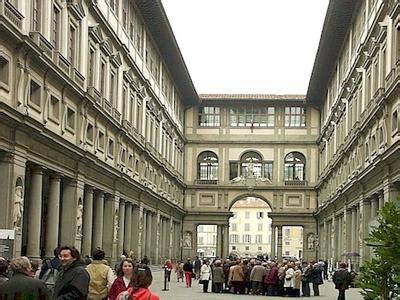 ingresso uffizi uffizi firenze op vakantie naar toscane