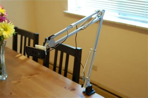 how to make a swing arm i liked this repurpose an ikea swing arm l into a web