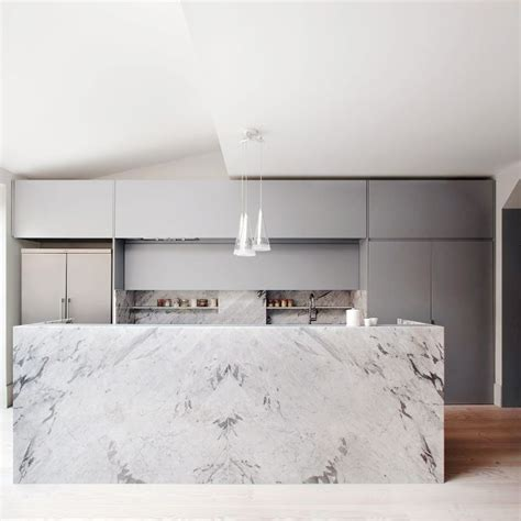 marble kitchen designs 17 of the most stunning modern marble kitchens mydomaine au