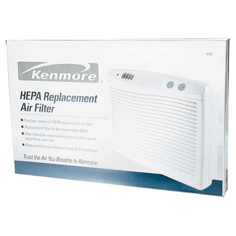 kenmore f k 3 replacement hepa filter for large room air purifier 03283396000