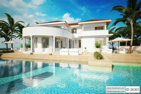 2 house with pool 2 house with pool id 26301 house plans by maramani