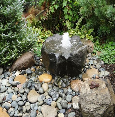 Rock Garden With Water Feature Best 25 Water Fountains Ideas On Garden Water Fountains Outdoor Water Fountains