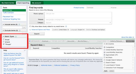 How To Search For On Match How To Create A Profitable Adwords Caign From Scratch