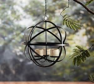 wrought iron hanging candle chandelier partylite fancy iron hanging votive candle holder with
