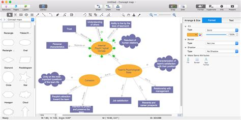 create visio diagram create a concept map in visio conceptdraw helpdesk