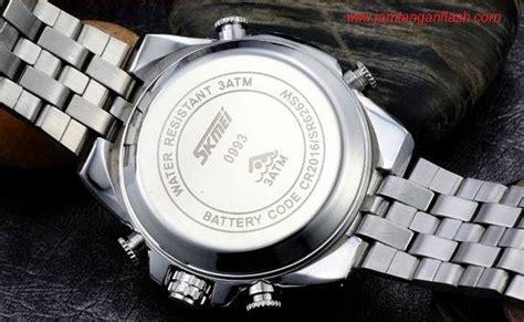 Jam Tangan Pria Rantai Original Skmei Tahan Air Black skmei elgrand 0993 putih original jam tangan import murah