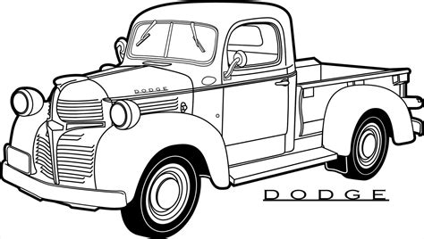 coloring pictures of vintage cars classic cars and trucks coloring pages bierwerx com