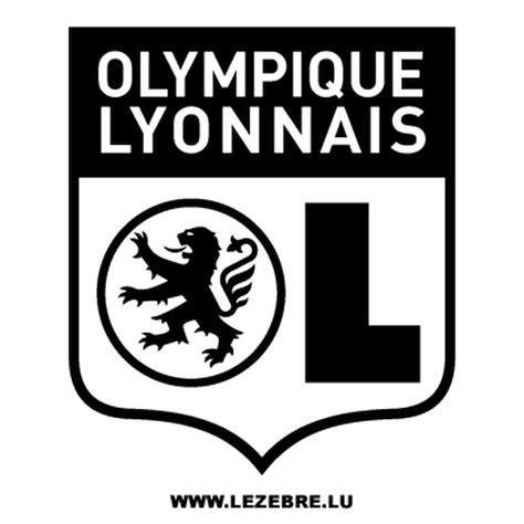 olympique lyonnais ol decal