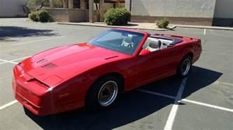 1989 Pontiac Trans Am For Sale 1989 Pontiac Trans Am Gta For Sale