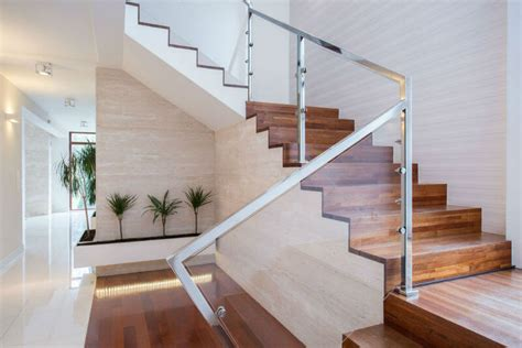 glass staircase banister 19 contemporary glass stair railing ideas photos
