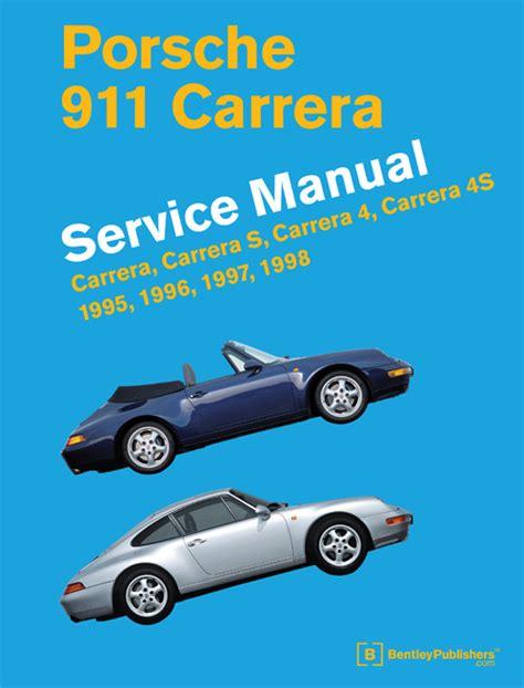 front cover porsche 911 993 1995 1998 repair information bentley publishers repair