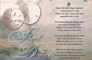 Version Of The Sand Dollar Legend Printable » Home Design 2017